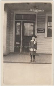 Happy Girl on Avalon Annex Porch pc1