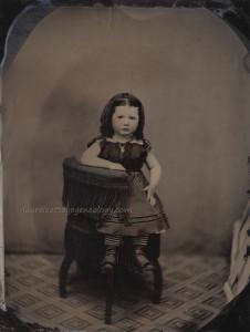 Margaret Jane Cunning Setzer age 3