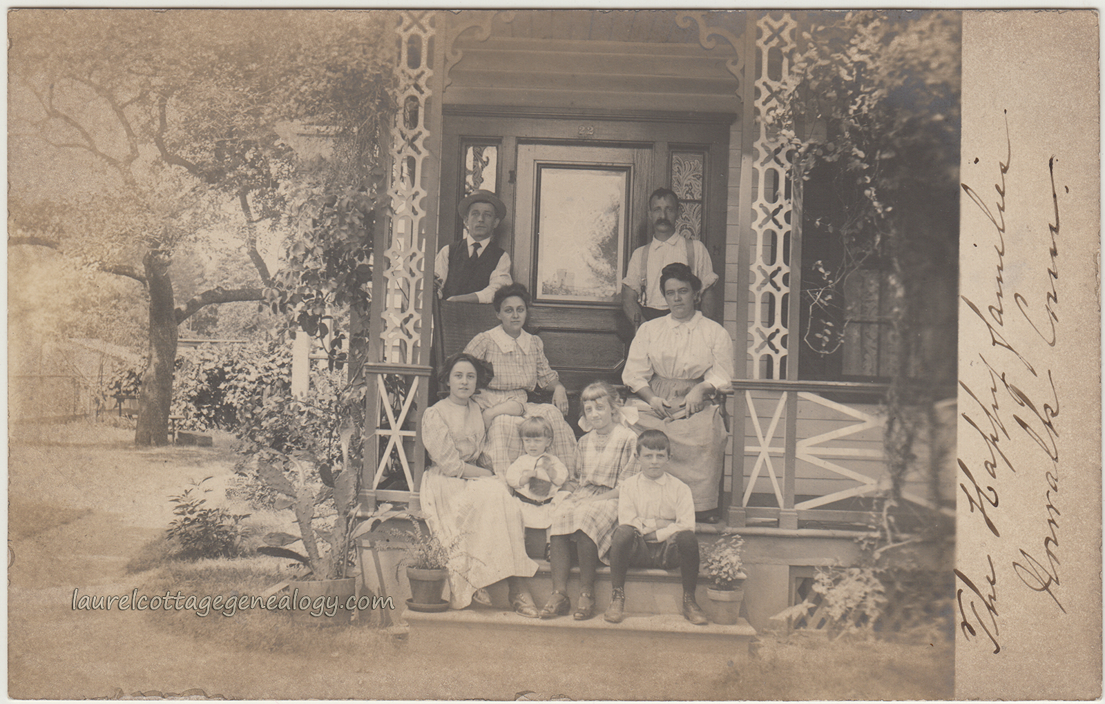 Rppc in norwalk ct laurel cottage genealogy the happy families of norwalk ct pc1 aiddatafo Image collections