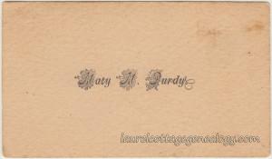Mary M. Purdy cc1