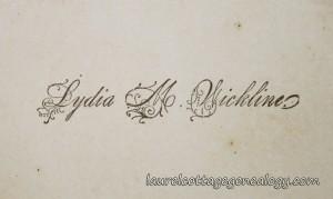 Lydia M Wickline cc2