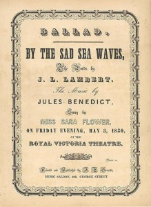 Sheet Music Cover BTSSW