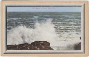 Surf Scene Peaks Island Maine pc1