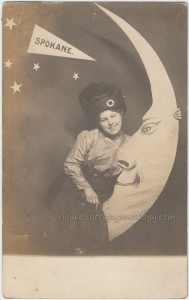 Turbaned Young Woman And Moon pc1