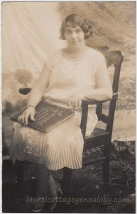 Woman With Book pc1