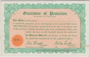Guarantee Of Protection ac1