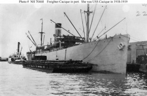 US Navy photo of USS Cacique