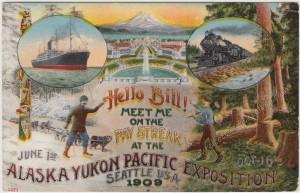 Alaska Yukon Pacific Exposition pc1