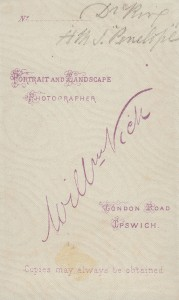 William Vick CDV