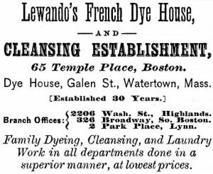 Lewandos 1877 Ad