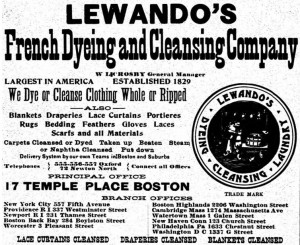 Lewandos 1906 Ad