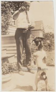 Man And Dog Pendleton Oregon p1