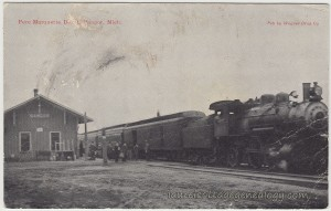 Pere Marquette Depot Bangor Michigan pc1