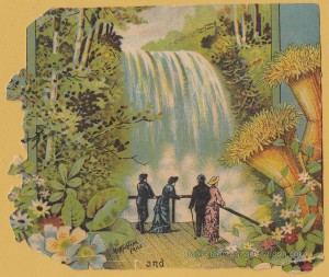 Minnehaha Falls Litho tc1