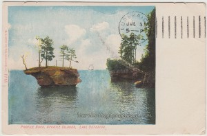 Profile Rock Apostle Islands Lake Superior pc1