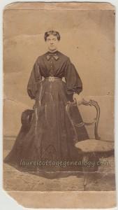 Miss Francis Burgin cdv1