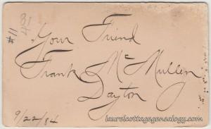 Frank McMullen Dayton 1894 cdv2