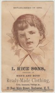 I Rice & Sons Rochester NY tc1