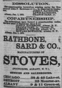 Rathbone Sard & Co Clip 1873