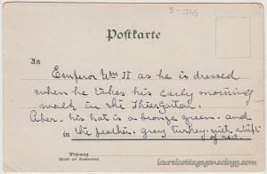 Wilhelm II Deutscher Kaiser pc2