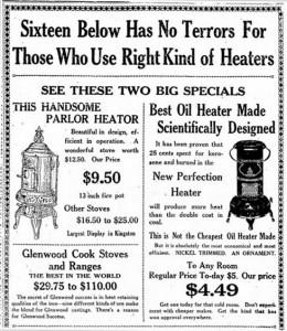 16 Below Ad for Glenwood