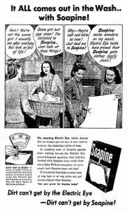 1947 Soapine Ad