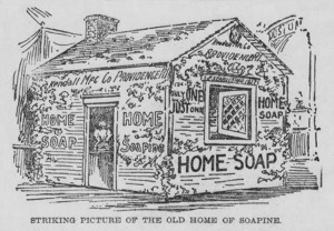 Home Soapine Ad