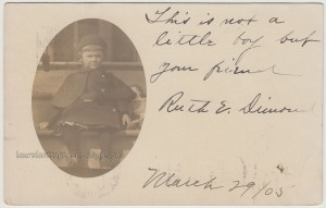 Ruth E. Dimond March 1905 pc1
