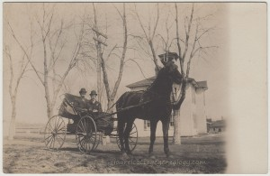 Another Horse And Buggy RPPC pc1