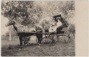Horse And Buggy Couple pc1