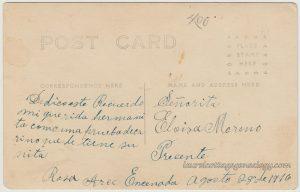 Rosa Arce August 28 1916 pc2