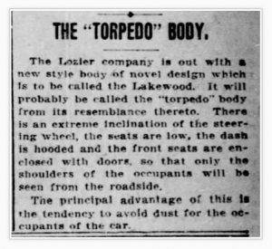 The Torpedo Body
