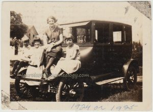 Dague Siblings With Model T p1