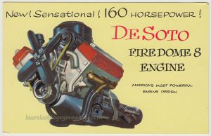 DeSoto Firedome 8 Engine pc1