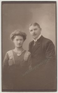 A Handsome Swedish Couple cdv1