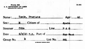 1925-evaristo-tanda-passenger-list