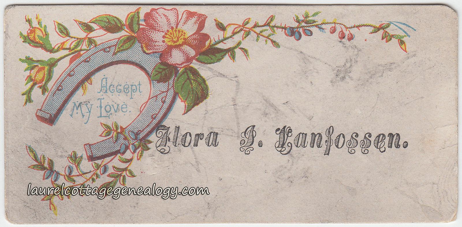 Calling Cards and Business Cards | Laurel Cottage Genealogy