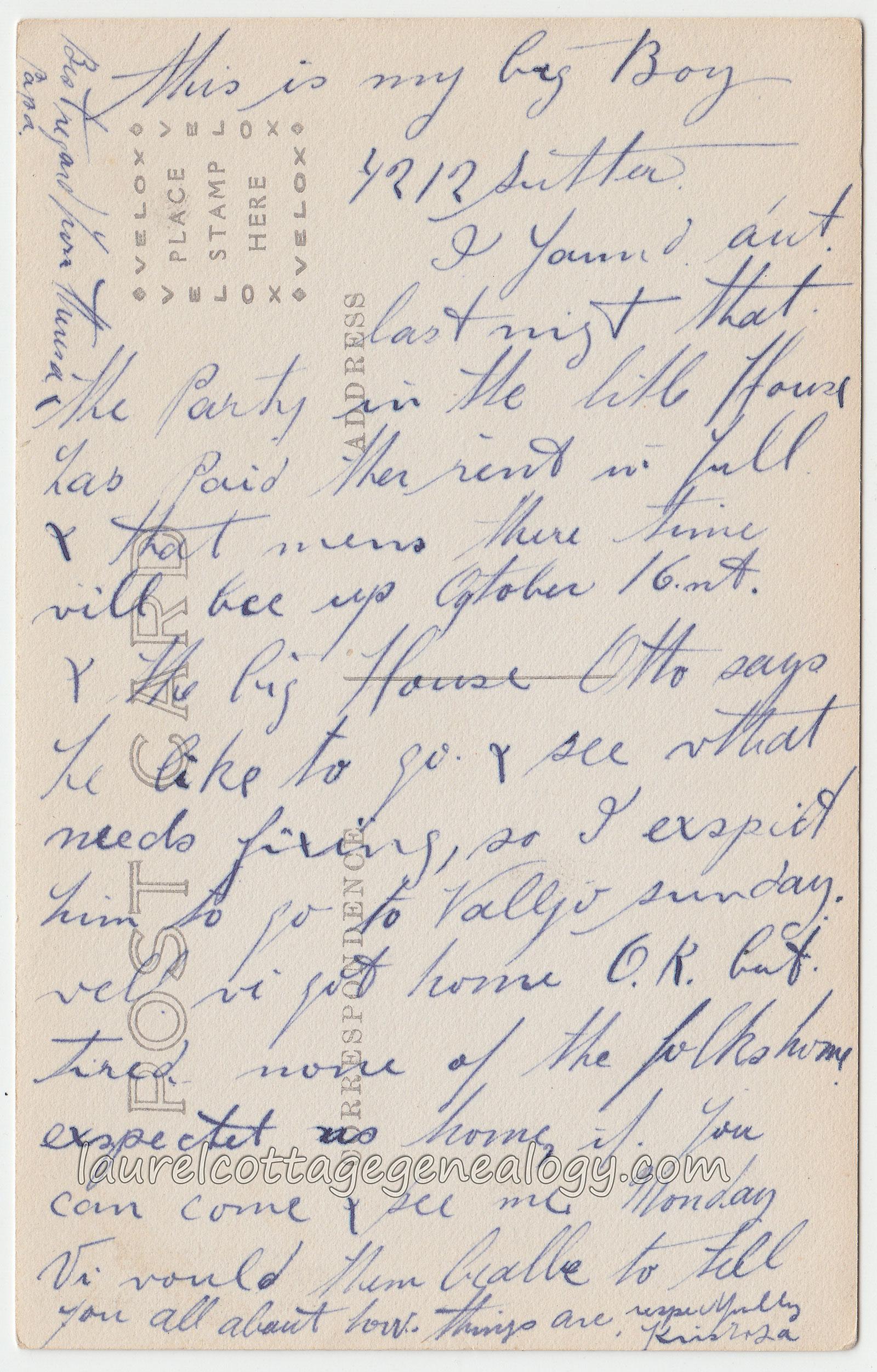 Lace Laurel Cottage Genealogy