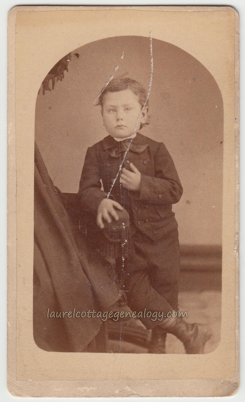 Carte De Visite Circa 1875 1883 Photographer Charles H Tebo Eau Claire Wisconsin