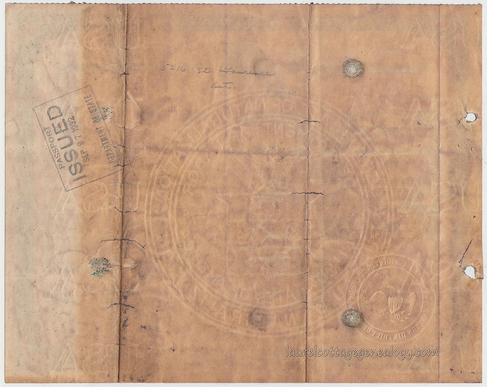 Stefan krukowski naturalization certificate laurel cottage genealogy original naturalization certificate and leather folder 1928 1betcityfo Choice Image